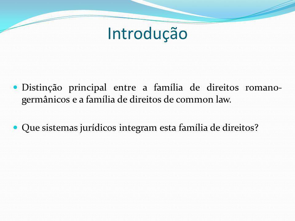 Equity – Principais alterações Passa a existir um sistema dualista: regras de common law e de equity.