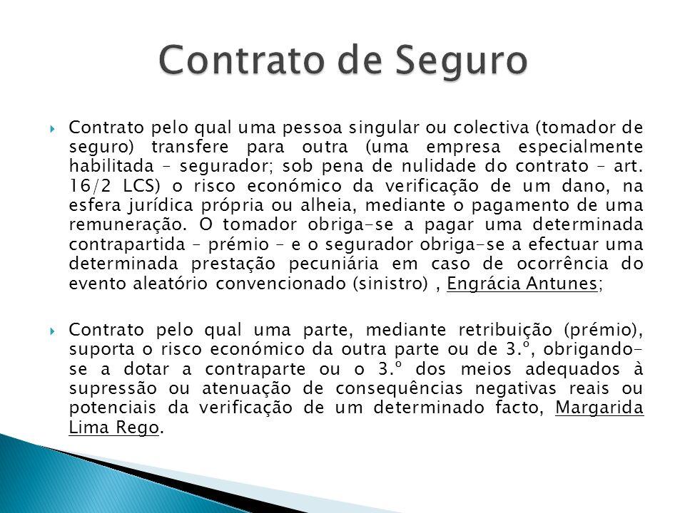 O art.137.º da LCS define contrato de seguro de responsabilidade civil como aquele em que o segurador cobre o risco de constituição, no património do segurado, de uma obrigação de indemnizar terceiros.