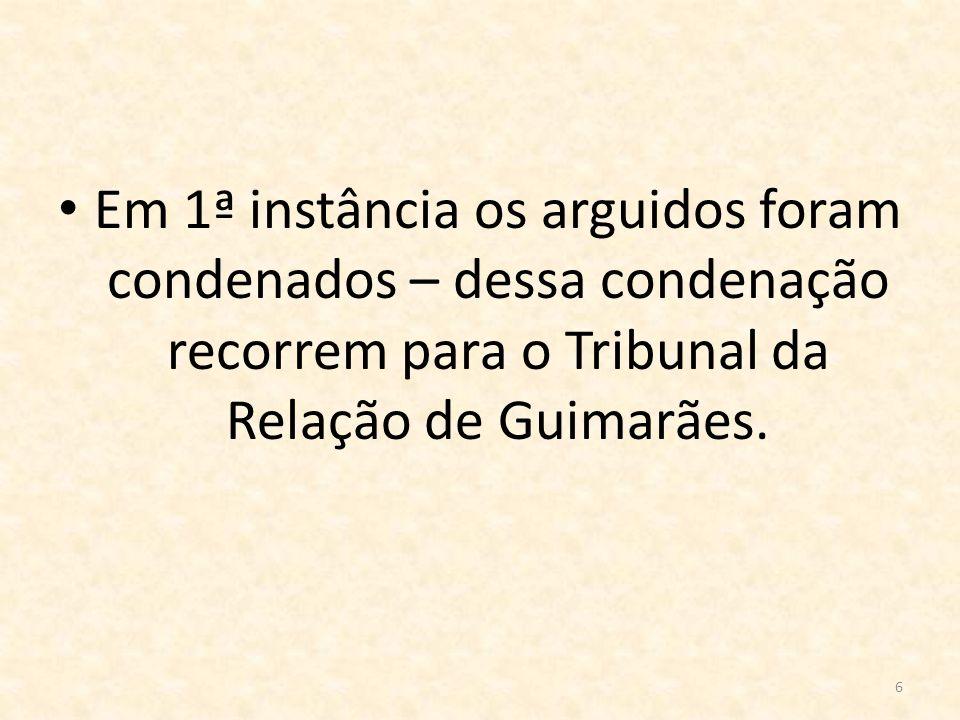 7 Alegações dos Arguidos: Alegam que o facto provado os arguidos sabiam que a sua conduta era proibida e punida por lei deve ser dado como não provado, dado o depoimento de B e das testemunhas.