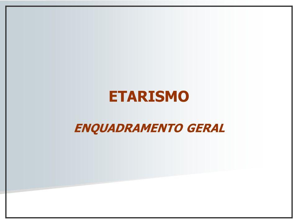 ETARISMO ENQUADRAMENTO GERAL