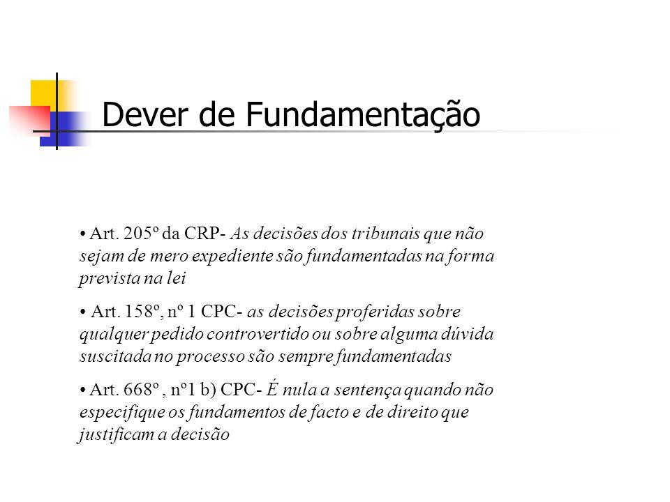 27 de Novembro de 2006 PRINCÍPIO DA FUNDAMENTAÇÃO