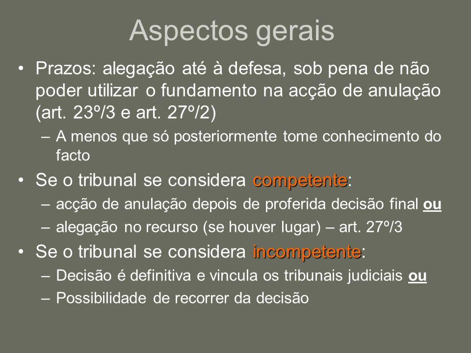 3 - A violação de garantias processuais mínimas Dois requisitos cumulativos: violação de um ou mais princípios fundamentais indicados no art.