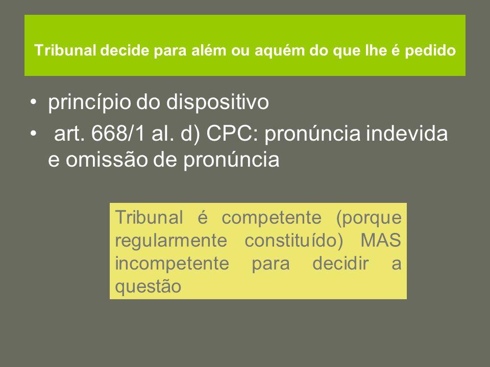 Questões… Enumeração do art.27ºLAV taxativa.Ordem pública é causa de anulação da decisão.