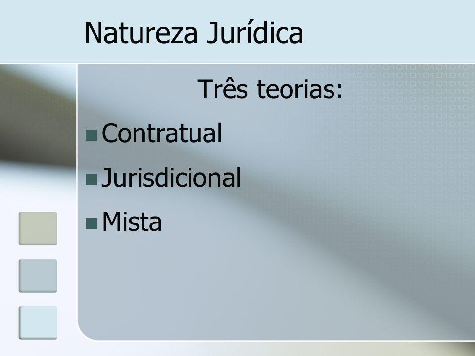 Teoria contratual radical Decisão arbitral é um contrato celebrado ou completado pelos árbitros como mandatários das partes.