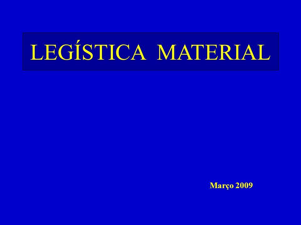 FEITURA das LEIS Março 2009 LEGÍSTICA MATERIAL