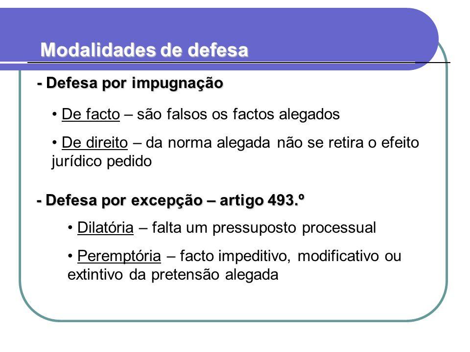 Ónus de impugnação - Se o réu não impugnar os factos, consideram-se provados por admissão – artigo 490.ºn.º2 - Se o réu não impugnar os factos, consideram-se provados por admissão – artigo 490.ºn.º2 Todos os factos.