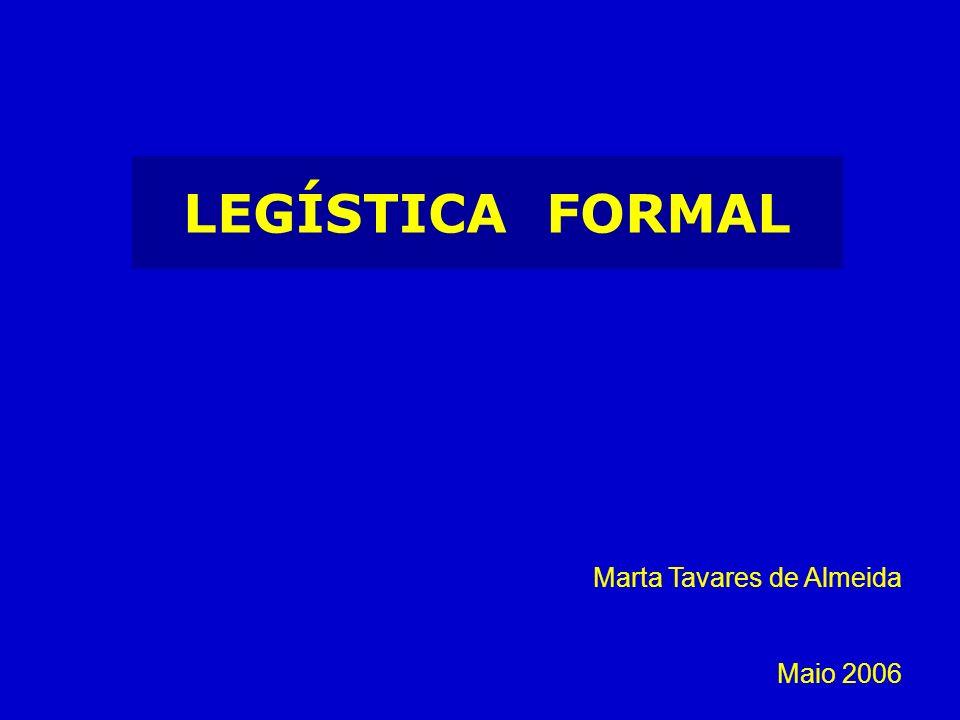 LEGÍSTICA FORMAL A TRADUÇÃO NORMATIVA da LEI Concepção do acto Redacção (stricto sensu)