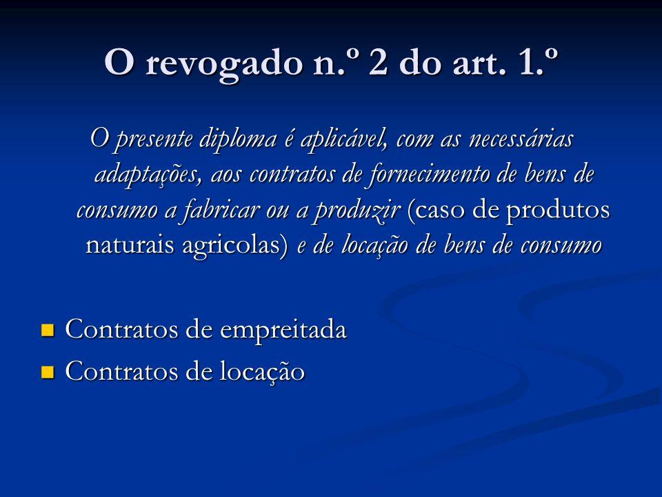 A conformidade Art.2.º, n.º 1 Art.