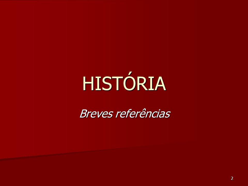 2 HISTÓRIA Breves referências