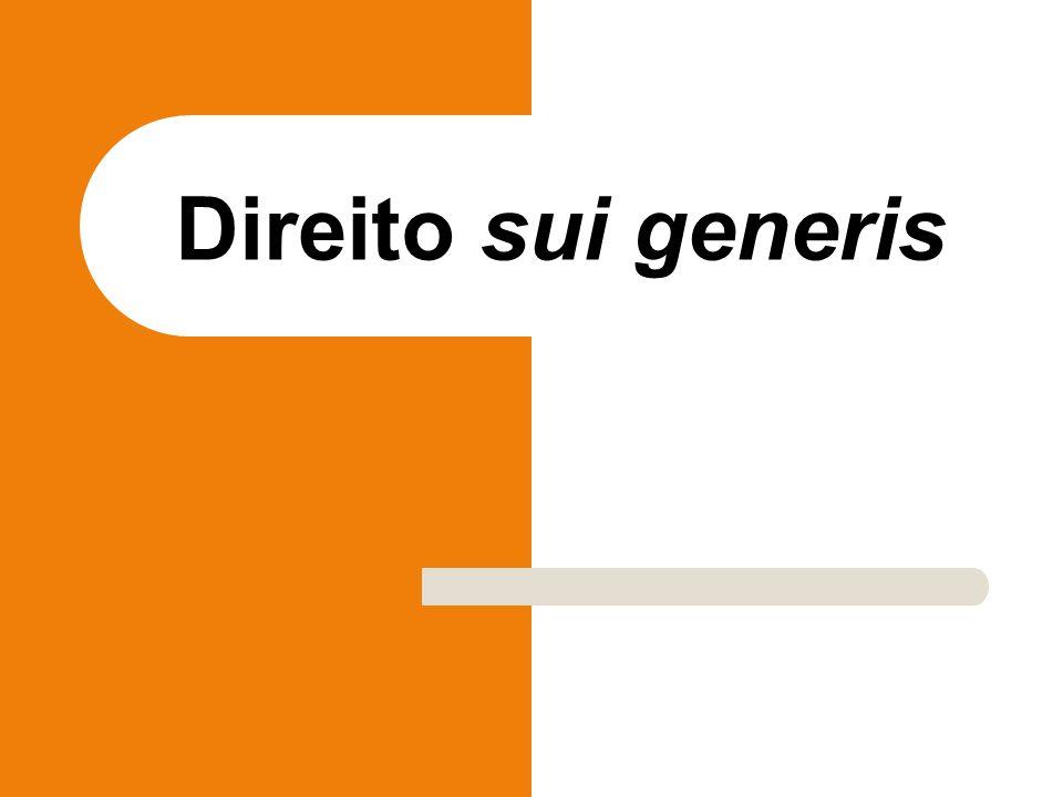 Direito sui generis