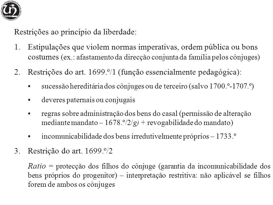 Requisitos de fundo - capacidade – 1708.º (nubentes) autorização para menores/interditos/inabilitados (cfr.