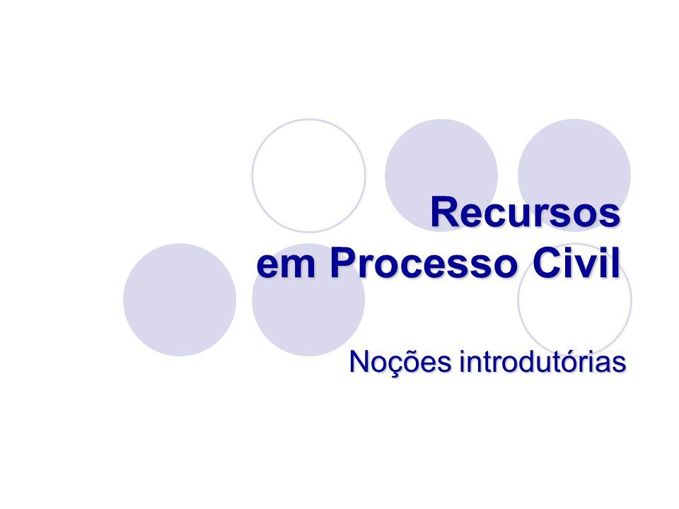 Finalidades dos recursos Mas, há excepções: Artigo 712.º n.º 4 – Relação anula e processo baixa; Artigo 712.º n.º 4 – Relação anula e processo baixa; Artigo 726.º ao excluir a aplicação do artigo 715.º n.º1 - no recurso de revista o STJ não substitui a decisão da Relação se decidir que esta é nula Artigo 726.º ao excluir a aplicação do artigo 715.º n.º1 - no recurso de revista o STJ não substitui a decisão da Relação se decidir que esta é nula