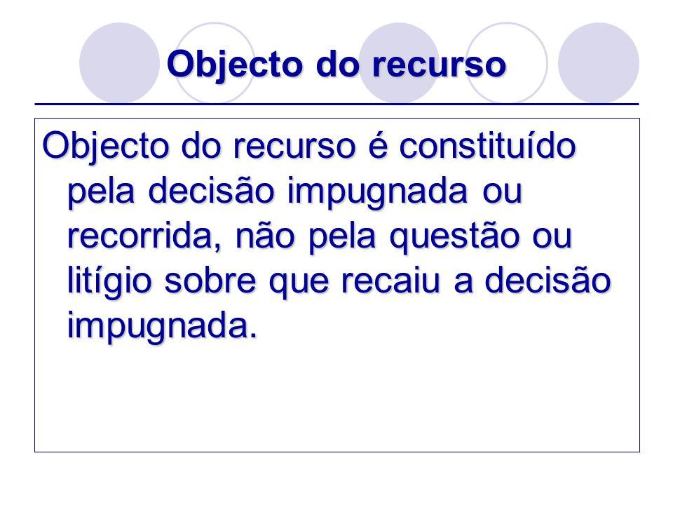 Âmbito do recurso Excepção à proibição da reformatio in peius: Artigo 753.º: O réu absolvido da instância, que não recorreu, pode ser condenado no pedido.
