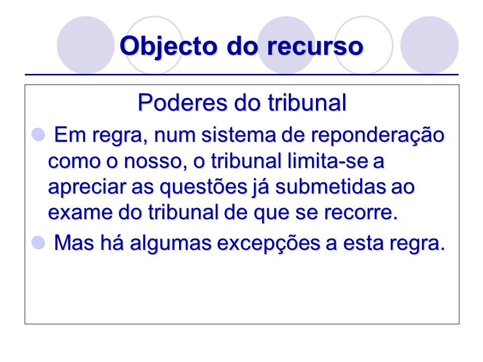 Efeitos do recursos Tendo o recurso efeito meramente devolutivo, o processo e/ou a decisão continuam como se o recurso não tivesse sido interposto: decisão recorrida é imediatamente exequível.