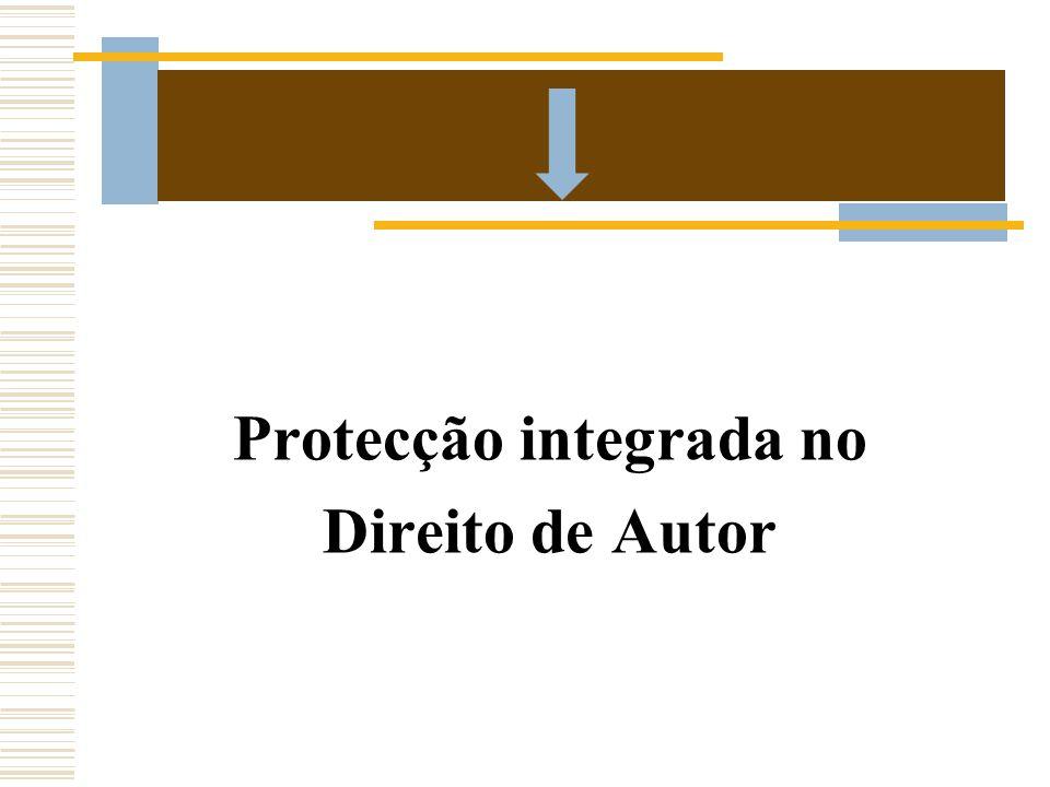 Protecção integrada no Direito de Autor