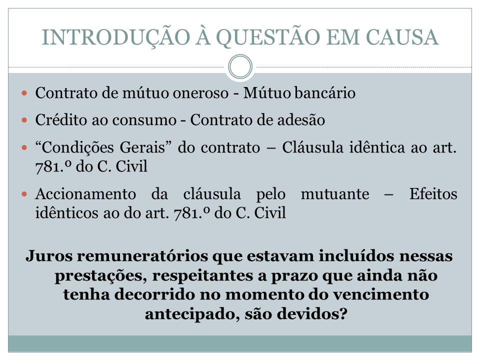 ENQUADRAMENTO LEGAL C.Civil – arts.