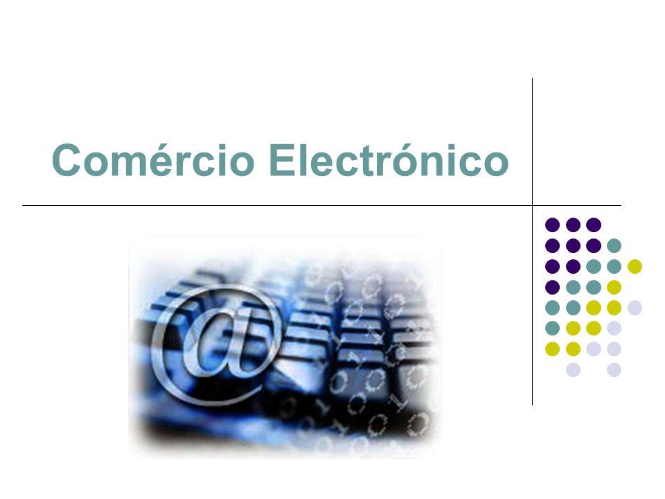 Comércio electrónico A era digital permitiu o desenvolvimento de um mercado em rede; Inicialmenteempresa a empresa Actualmenteempresas e indivíduos Mercado virtual Noção: meio de comercialização de bens e serviços que recorre aos novos meios tecnológicos a partir de qualquer local e a qualquer hora