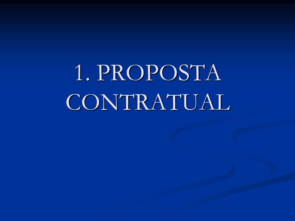 1. PROPOSTA CONTRATUAL