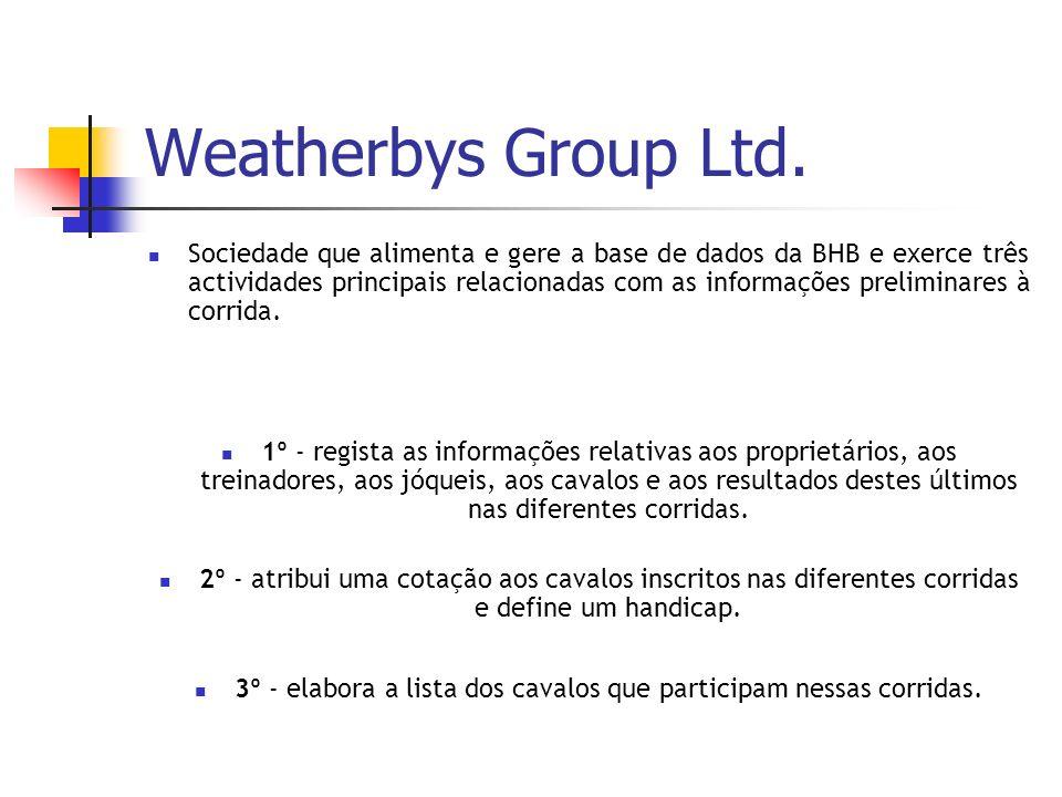 Weatherbys Group Ltd.