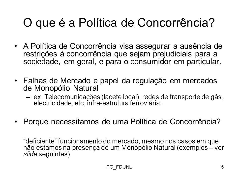 PG_FDUNL6 O que é a Politica de Concorrência.
