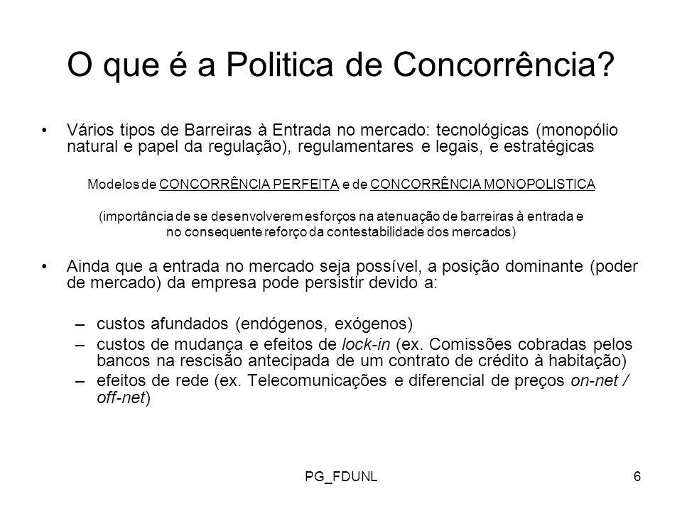 PG_FDUNL7 O que é a Politica de Concorrência.