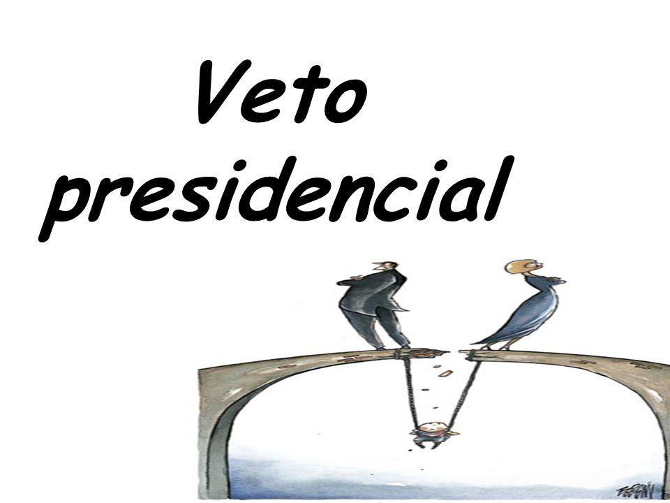 56 Veto presidencial