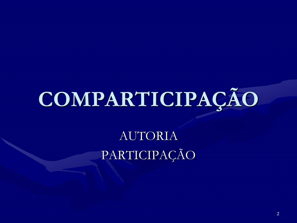 2 COMPARTICIPAÇÃO AUTORIAPARTICIPAÇÃO