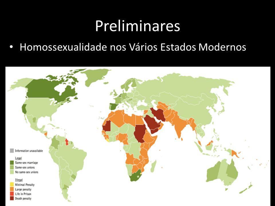 3 Preliminares Homossexualidade nos Vários Estados Modernos