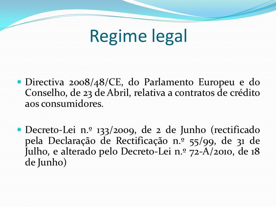 Artigo 20.º - Vencimento antecipado Regime geral – perda do benefício do prazo com a falta de realização de uma prestação (artigo 781.º do Código Civil).