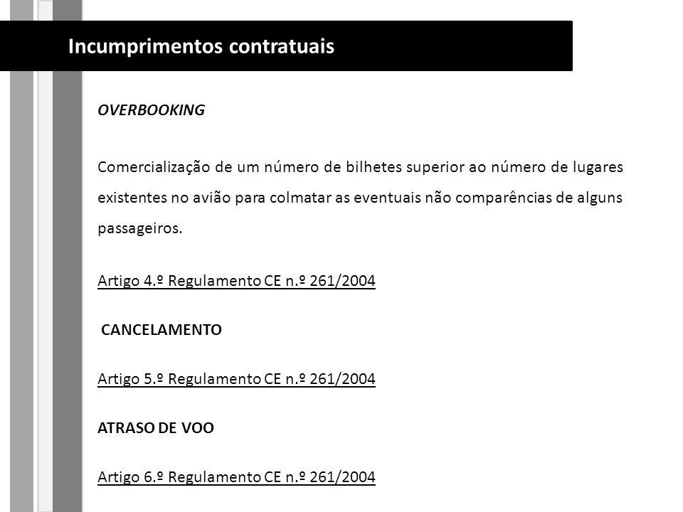 OVERBOOKING Comercialização de um número de bilhetes superior ao número de lugares existentes no avião para colmatar as eventuais não comparências de alguns passageiros.