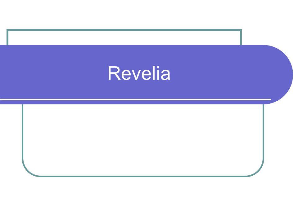 Noção Revelia absoluta e relativa Consequência-regra: efeito probatório – revelia operante (vs.