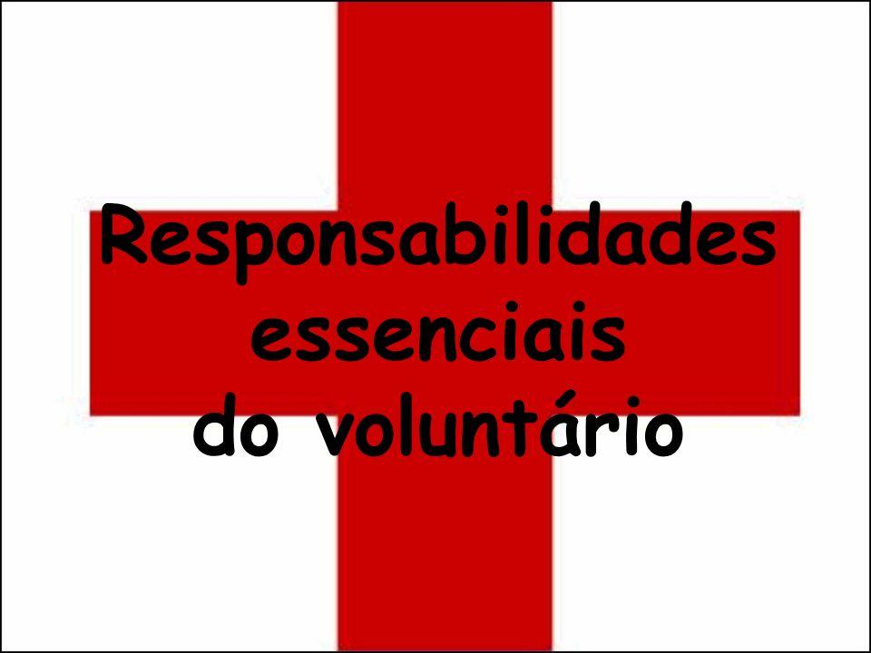 Responsabilidades essenciais do voluntário