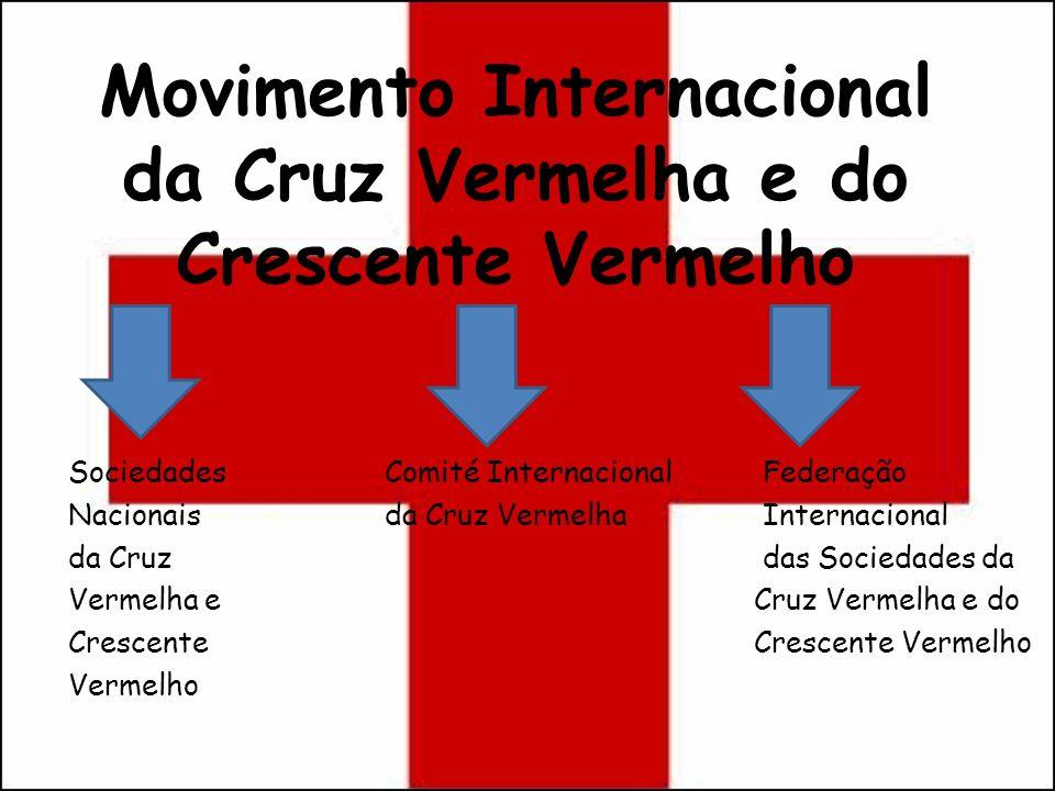 Movimento Internacional da Cruz Vermelha e do Crescente Vermelho Sociedades Comité Internacional Federação Nacionais da Cruz Vermelha Internacional da