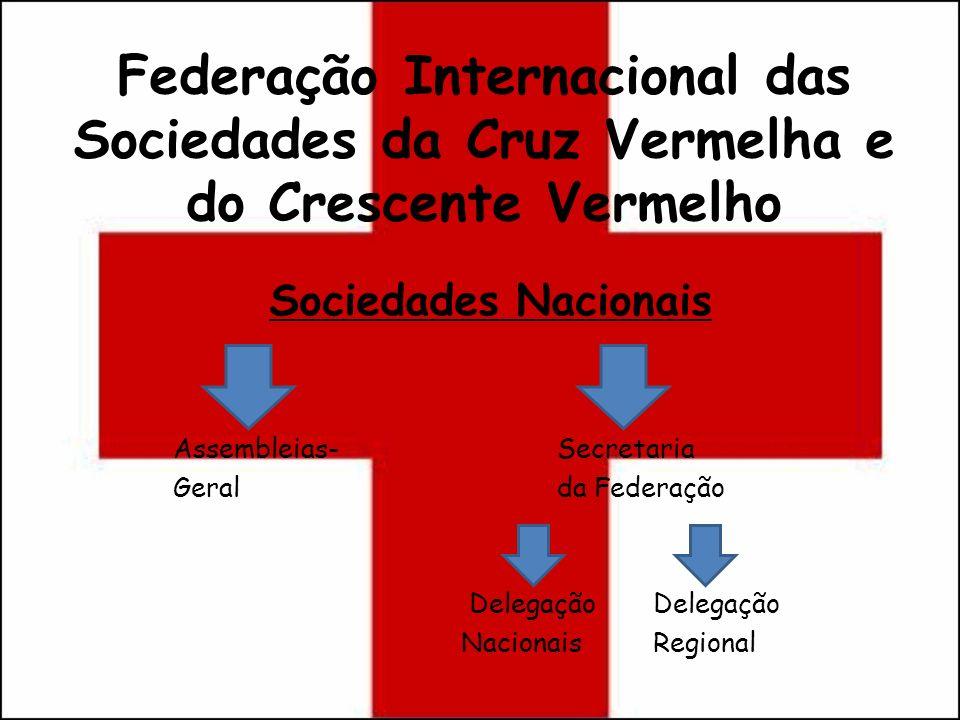 Federação Internacional das Sociedades da Cruz Vermelha e do Crescente Vermelho Sociedades Nacionais Assembleias-Secretaria Geralda Federação Delegaçã