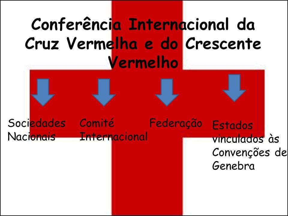 Conferência Internacional da Cruz Vermelha e do Crescente Vermelho Sociedades Nacionais Comité Internacional Federação Estados vinculados às Convençõe