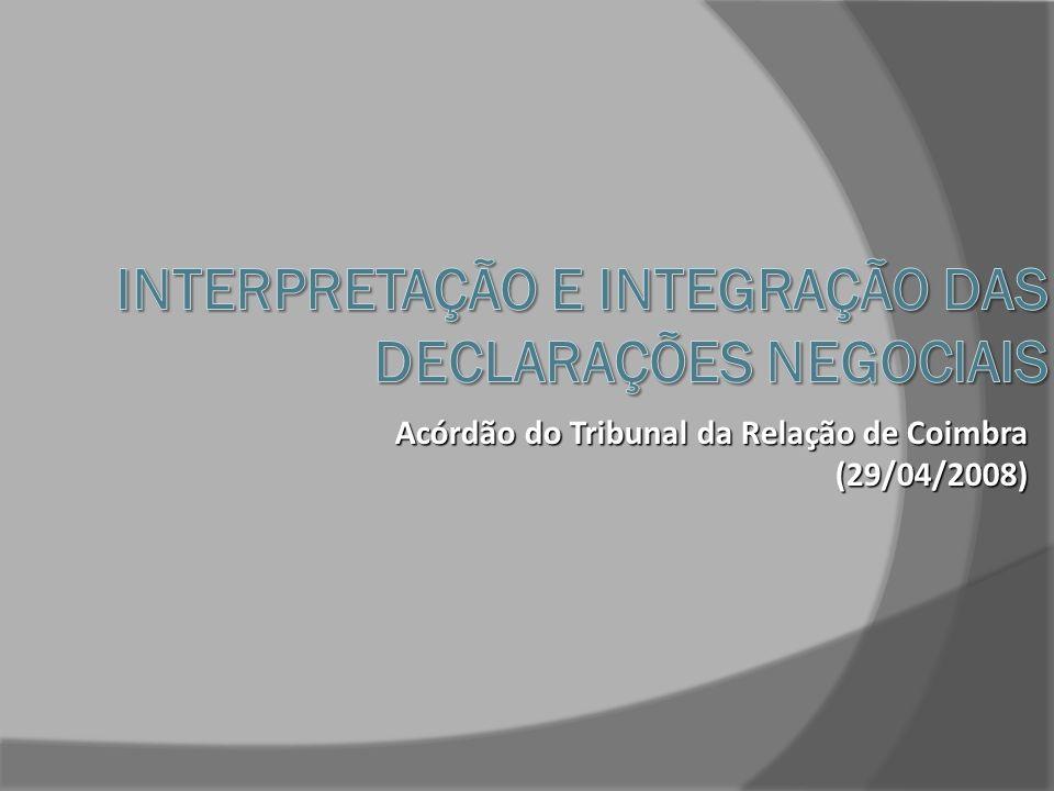 Art.238 o do Código Civil (Negócios formais) Correspondência textual Sentido da Declaração 5.