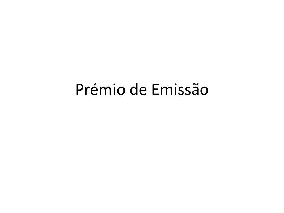 Prémio de Emissão