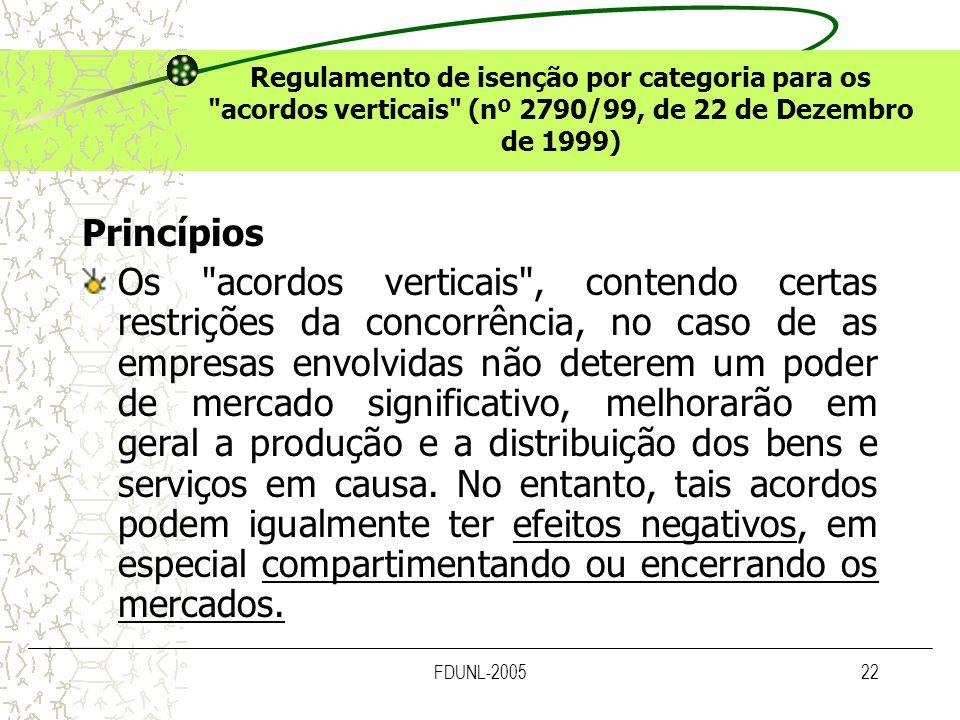 FDUNL-200522 Regulamento de isenção por categoria para os
