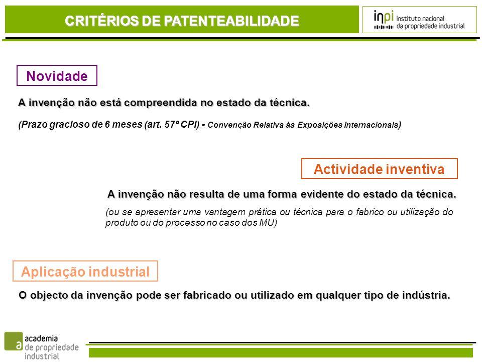 Idiomas aceites pelo INPI: Português, Inglês, Francês ou Alemão (Artigo 91.º CPI) Se entregar em português, tem 1 mês para entregar uma tradução num dos outros 3 idiomas.
