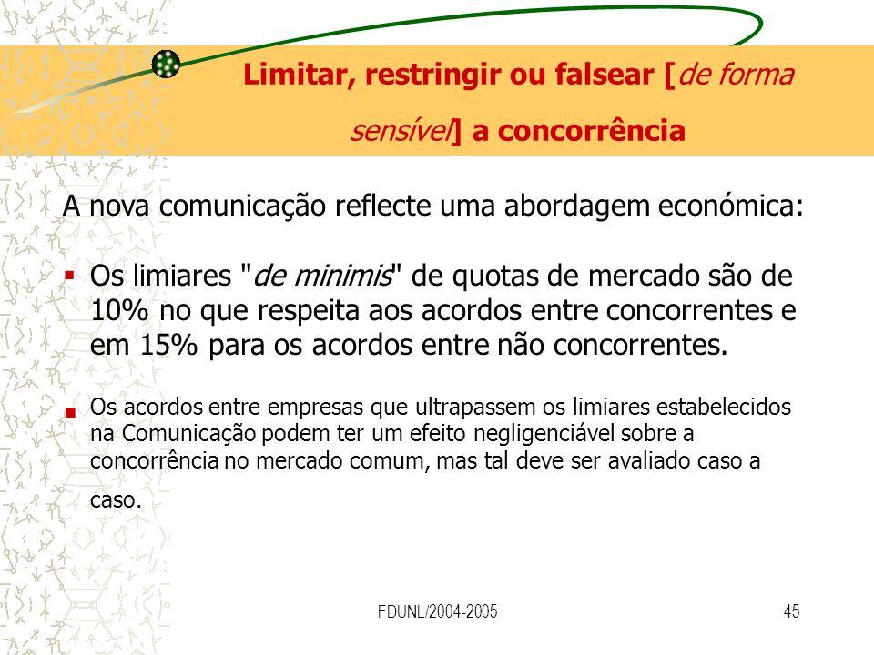 FDUNL/2004-200545 A nova comunicação reflecte uma abordagem económica: Os limiares