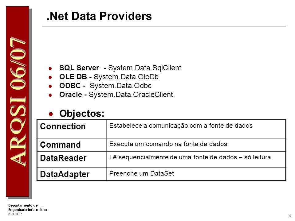 3 Acesso a Bases de Dados