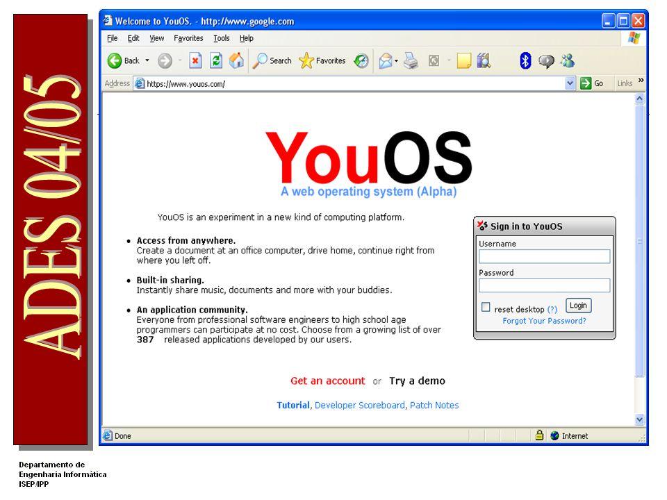 WWW Web Ontology Language WEB 2.0 Inteligência colectiva Trabalho colaborativo Conhecimento distribuído AJAX Assynchronous JavaScript Aplicações Web m