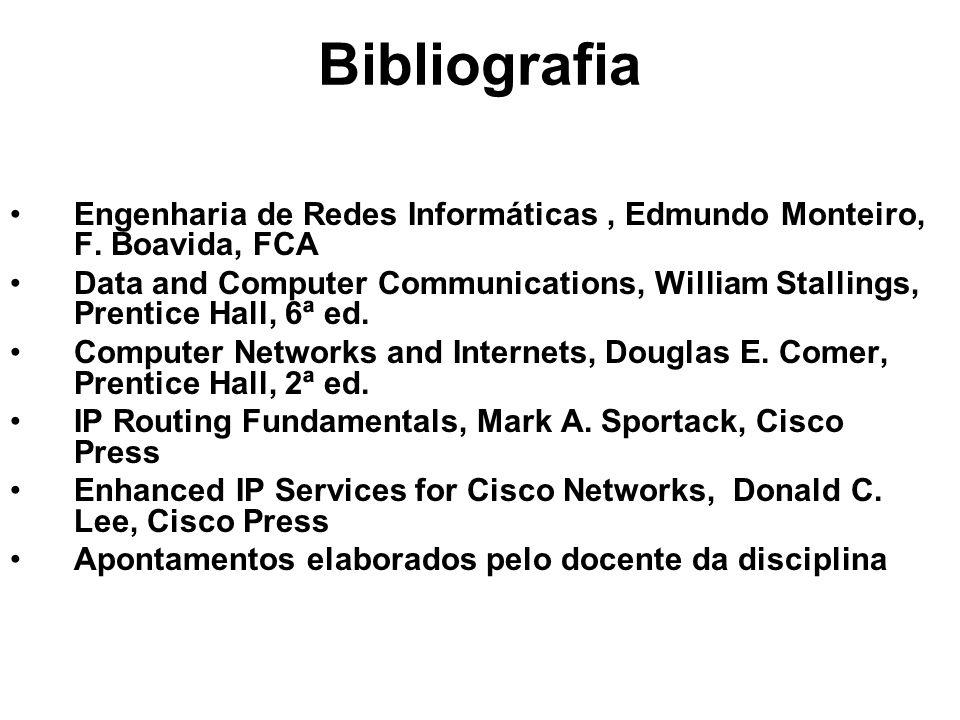 Agregação de Endereços Diminui o tamanho das tabelas de encaminhamento dos routers