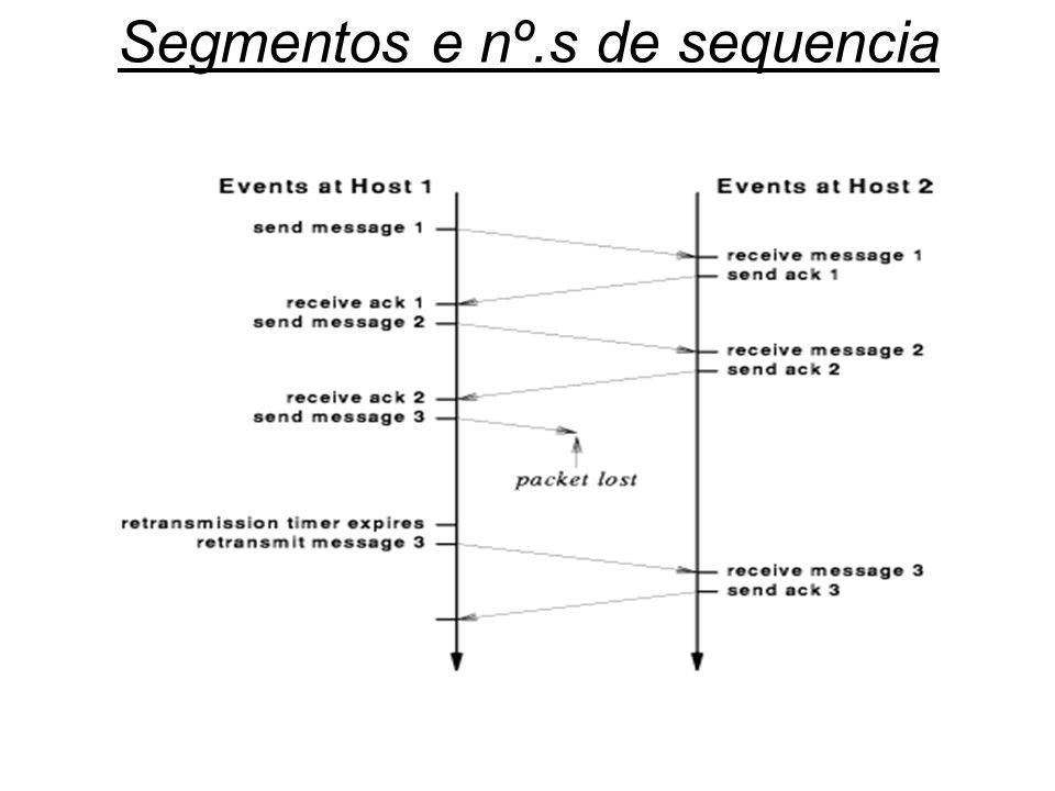 Segmentos e nº.s de sequencia