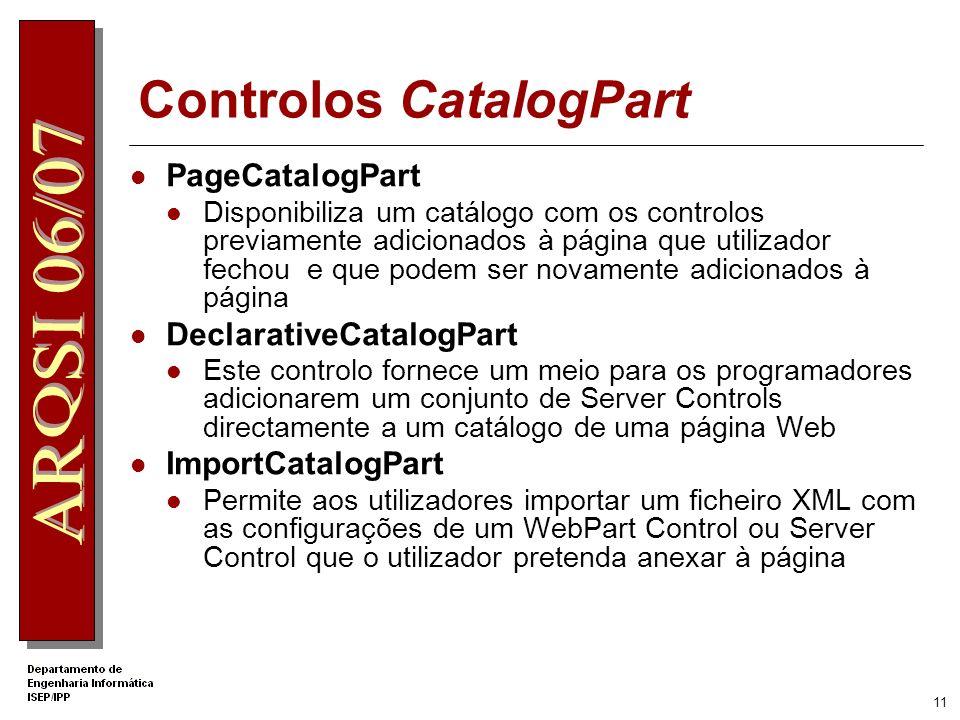 10 Controlos EditorPart Editor Zone