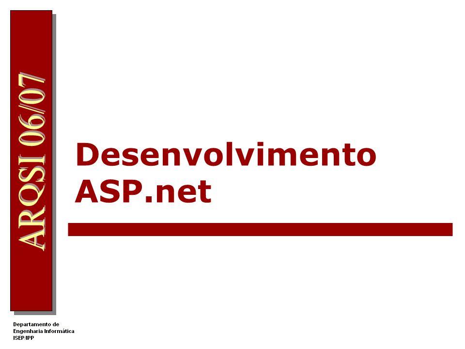 Desenvolvimento ASP.net