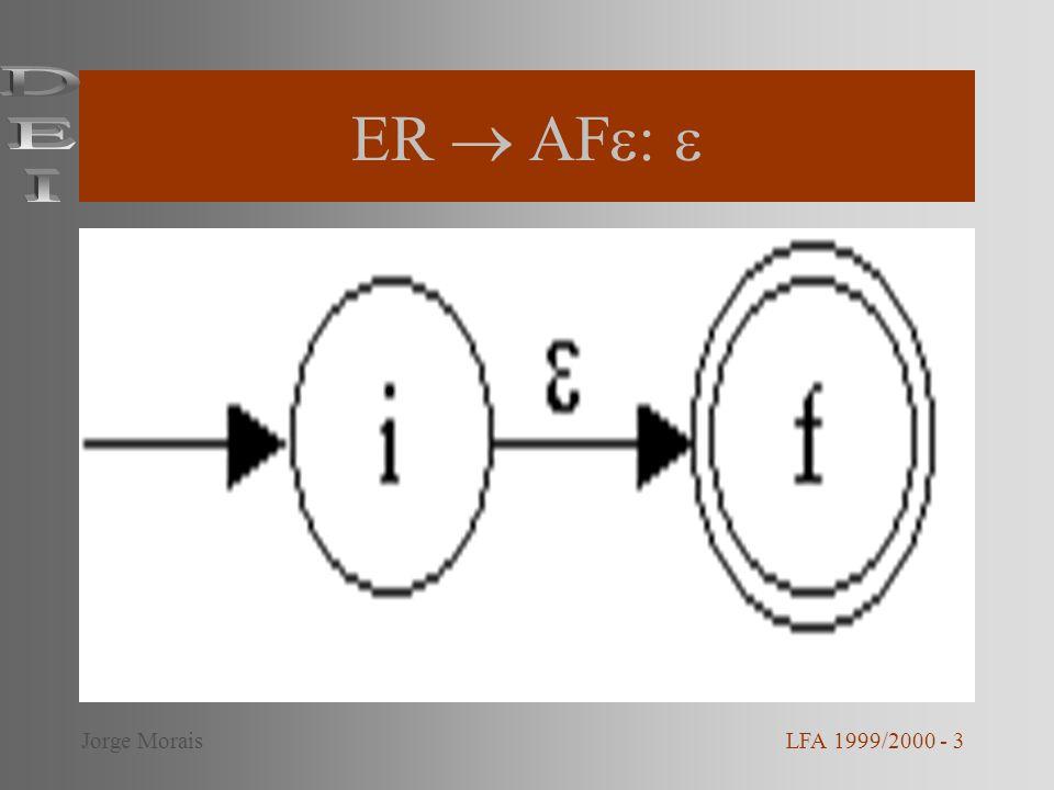 Exemplo: AFD LFA 1999/2000 - 14Jorge Morais
