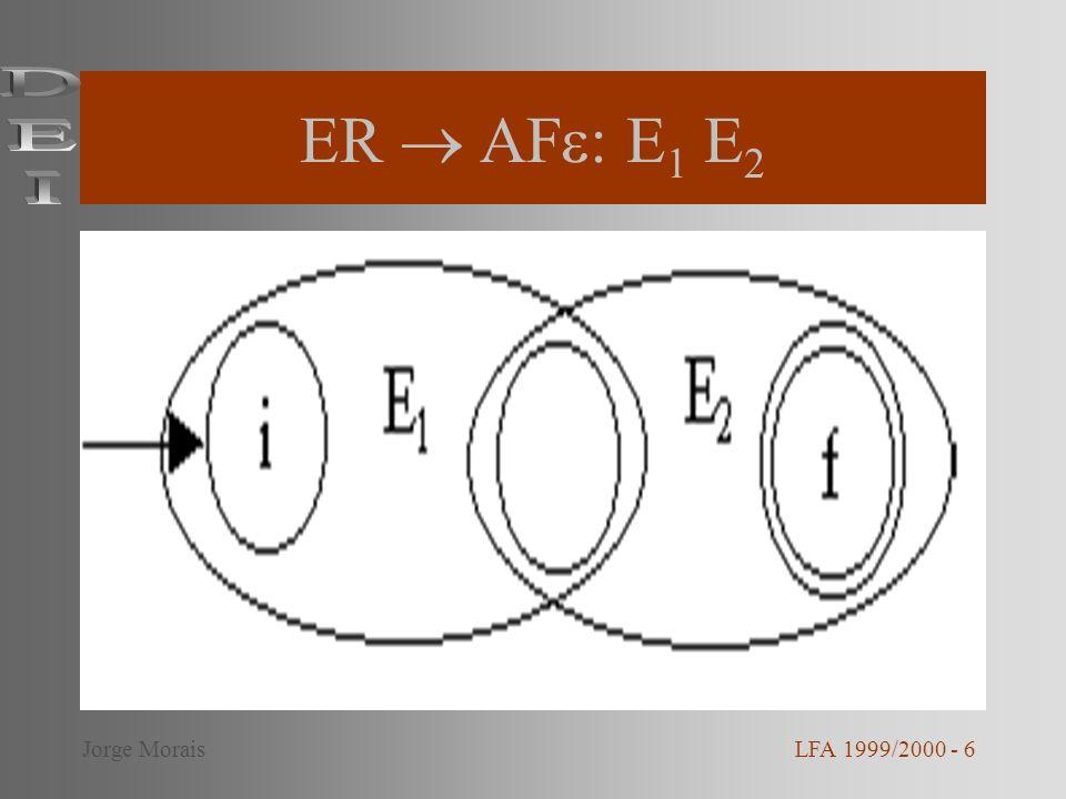 ER AF : E 1 E 2 LFA 1999/2000 - 6Jorge Morais