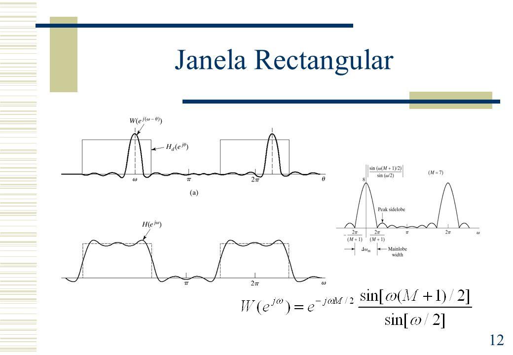 12 Janela Rectangular