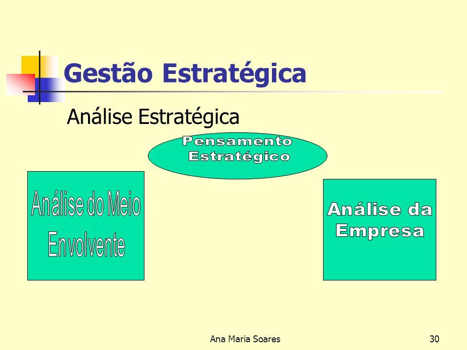 Ana Maria Soares29 As Três Áreas - Chave da Estratégia Empresarial